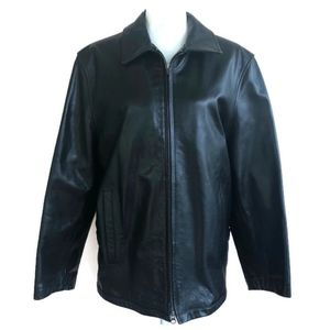 Banana Republic Vintage Leather Bomber Jacket